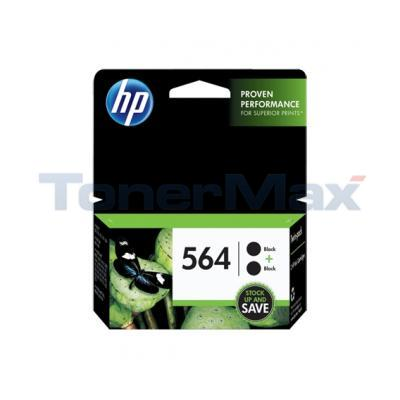 HP NO 564 INK CARTRIDGE BLACK TWIN-PACK